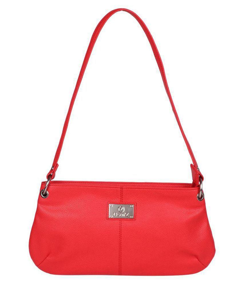 OSAAEZ Red P.U. Sling Bag
