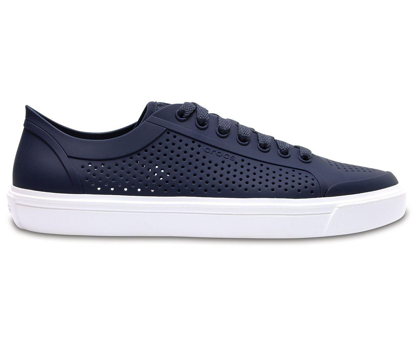 b2cf0bf5d606 Crocs Citilane Roka Court Lifestyle Navy Casual Shoes - Buy Crocs ...