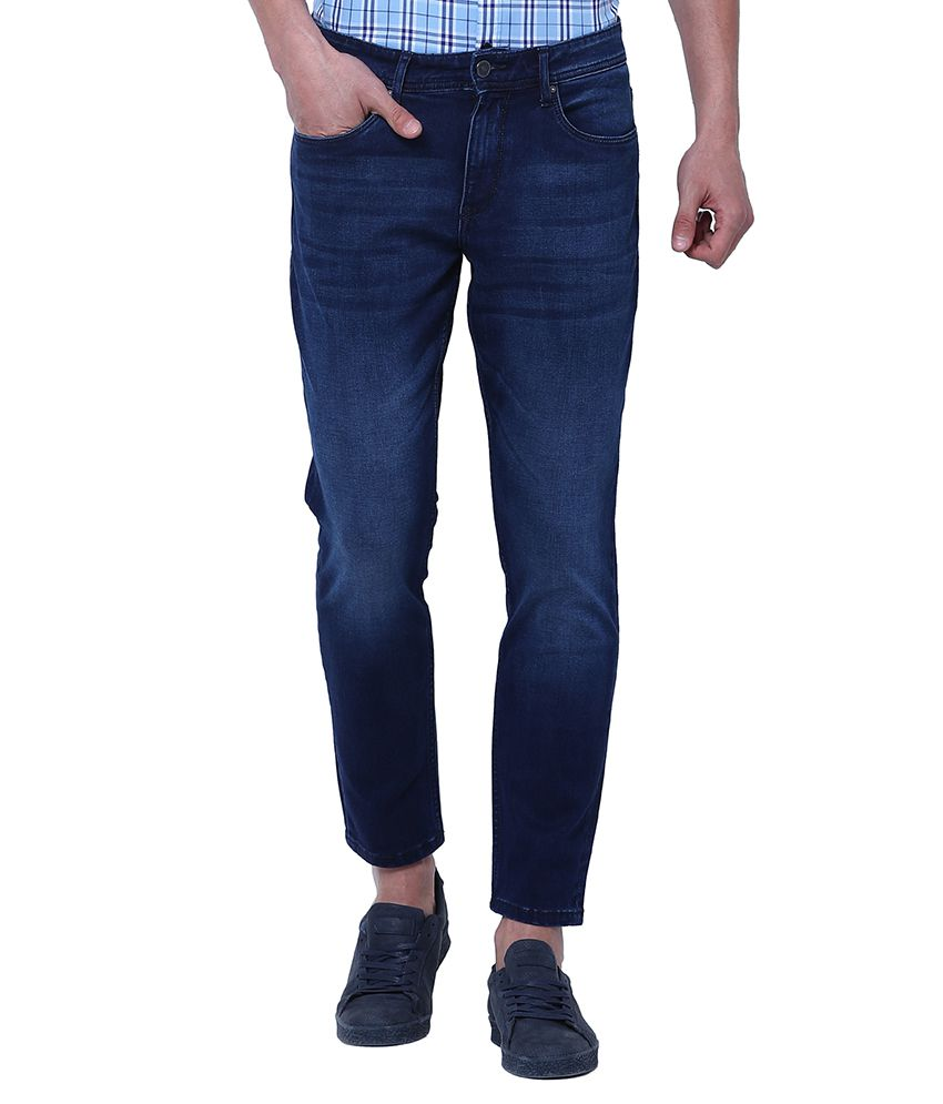 Locomotive Navy Blue Relaxed Jeans