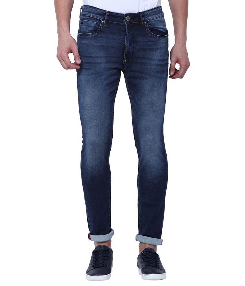 Locomotive Navy Blue Slim Jeans