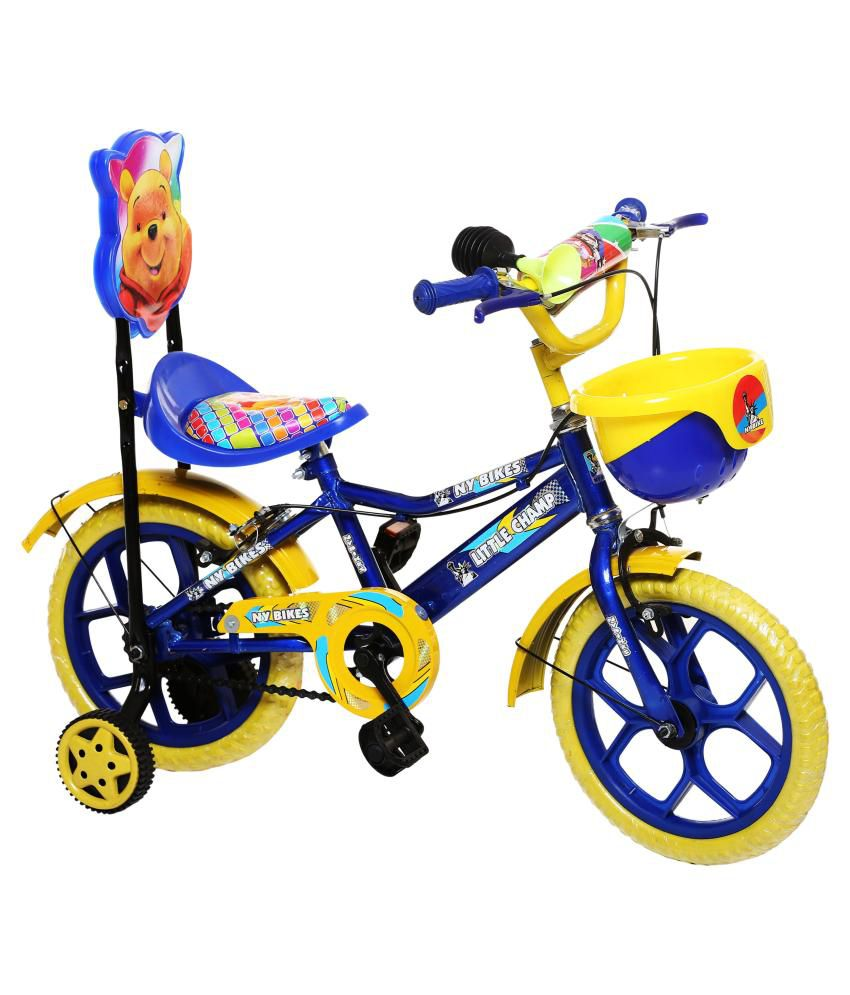 Ny Bikes Blue Kids Cycle 35 56 Cm 14 Road Bike Kids Bicycle Buy