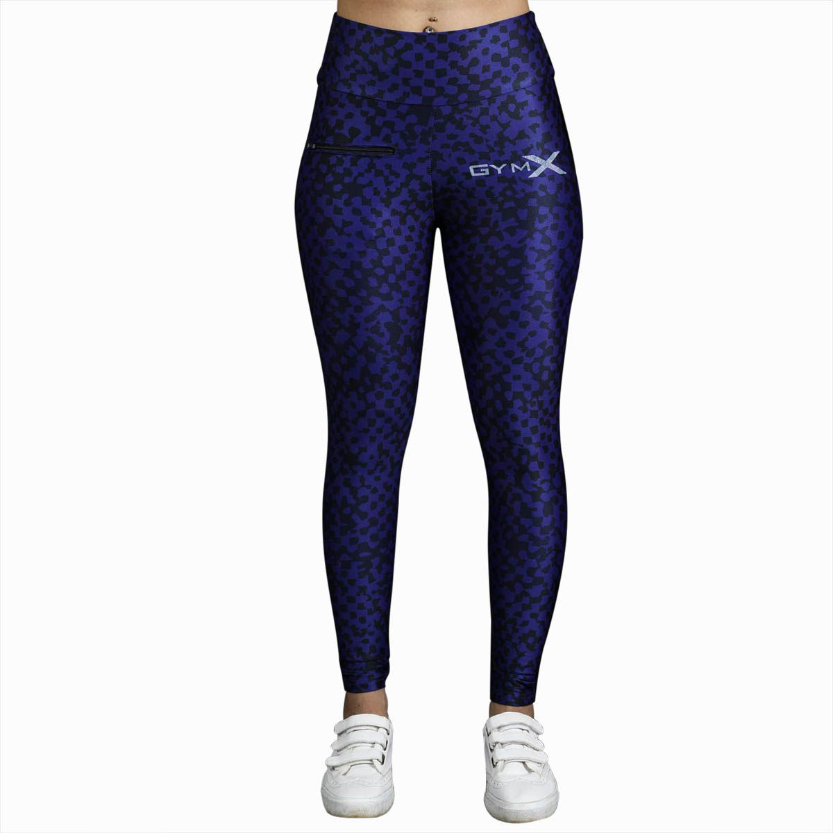 GymX Womens Polyester Allure Leggings: Luxe Leopard