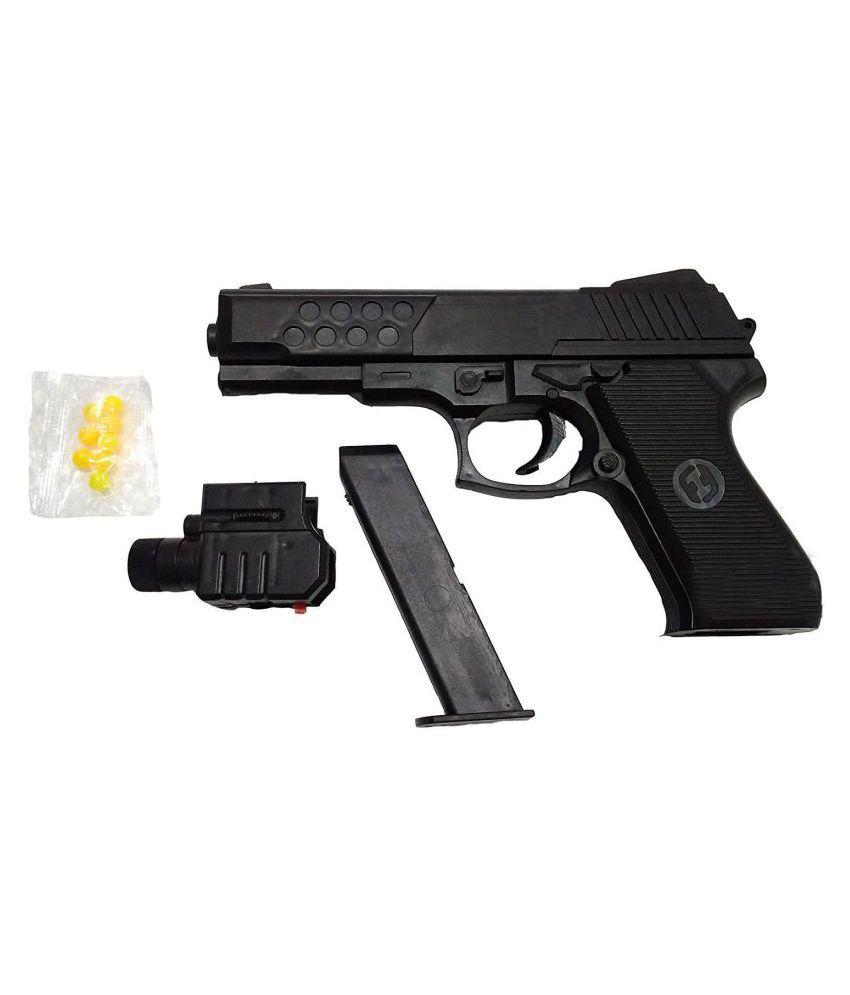 HickoryDickoryBox TOY GUN with LASER with Bullets - Action Toy Target Games - Air Sport Gun M-2068AF