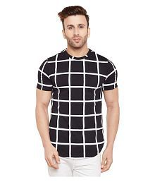 le bourgeois Black Round T-Shirt Pack of 1