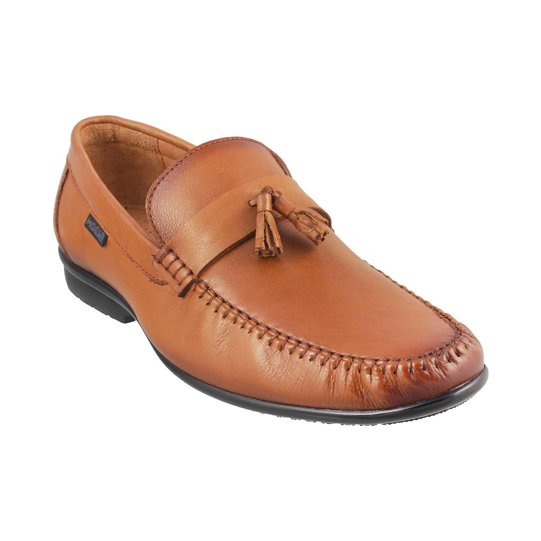 e0fadf8c821293 MOCHI Slip On Genuine Leather TAN Formal Shoes Price in India- Buy MOCHI  Slip On Genuine Leather TAN Formal Shoes Online at Snapdeal