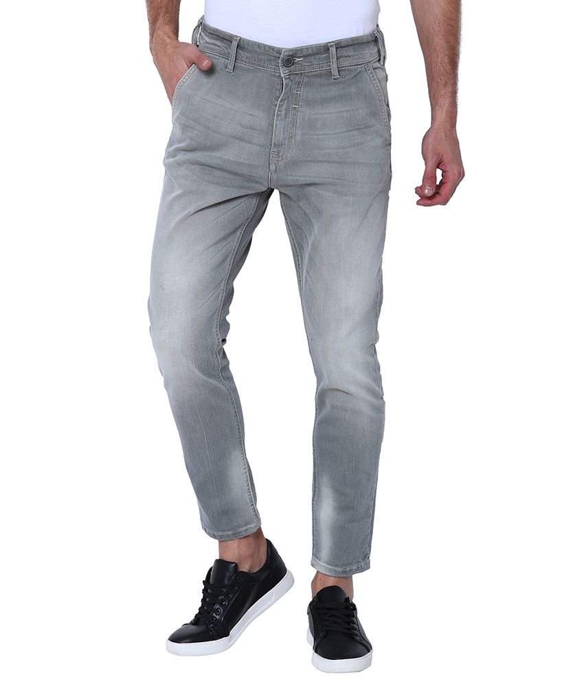 Locomotive Grey Slim Jeans