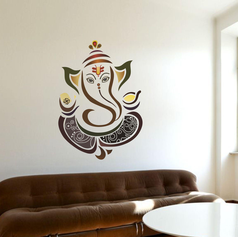 Creatick Studio Colourful Ganesha Religious & Inspirational