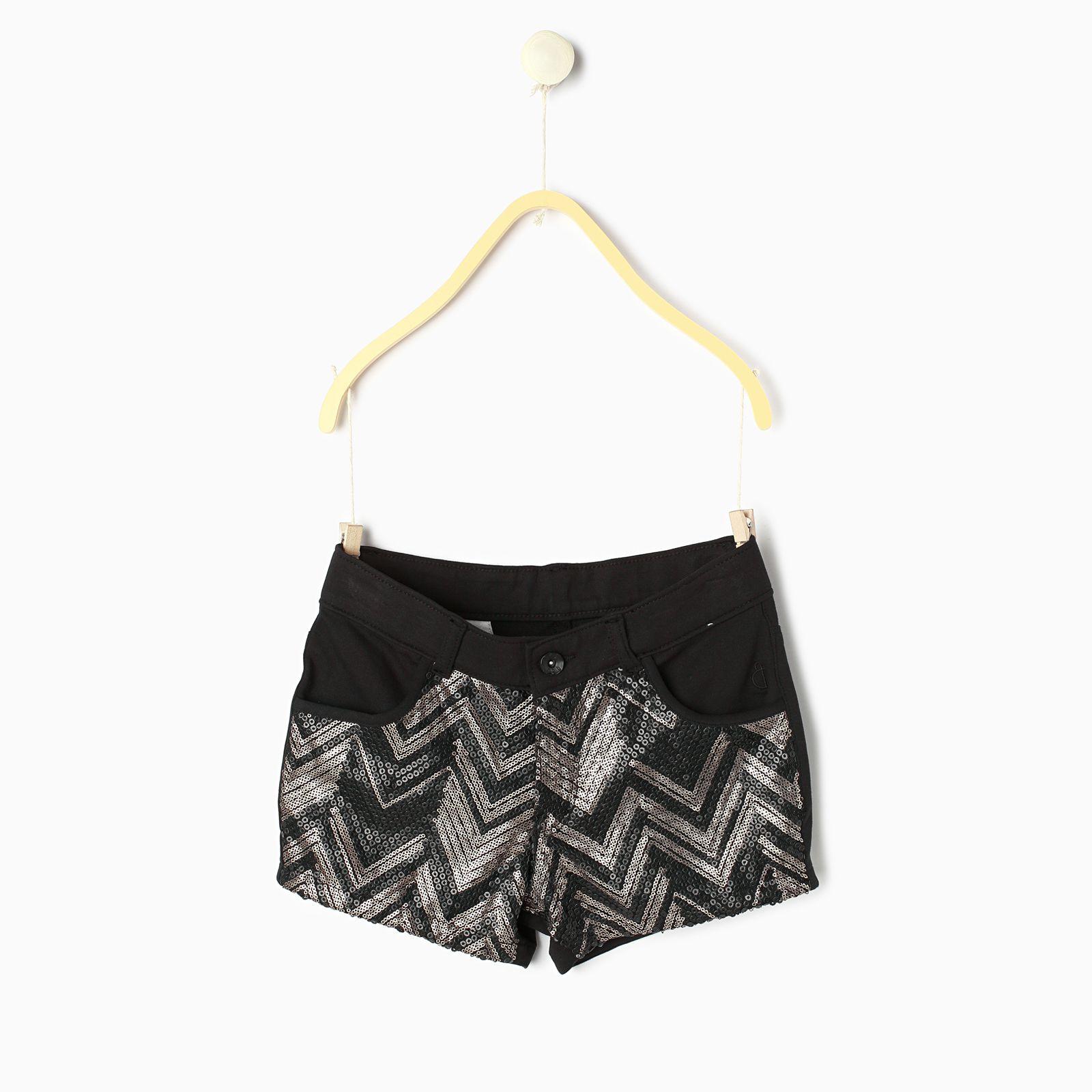 Gini & Jony Black  Hot Shorts