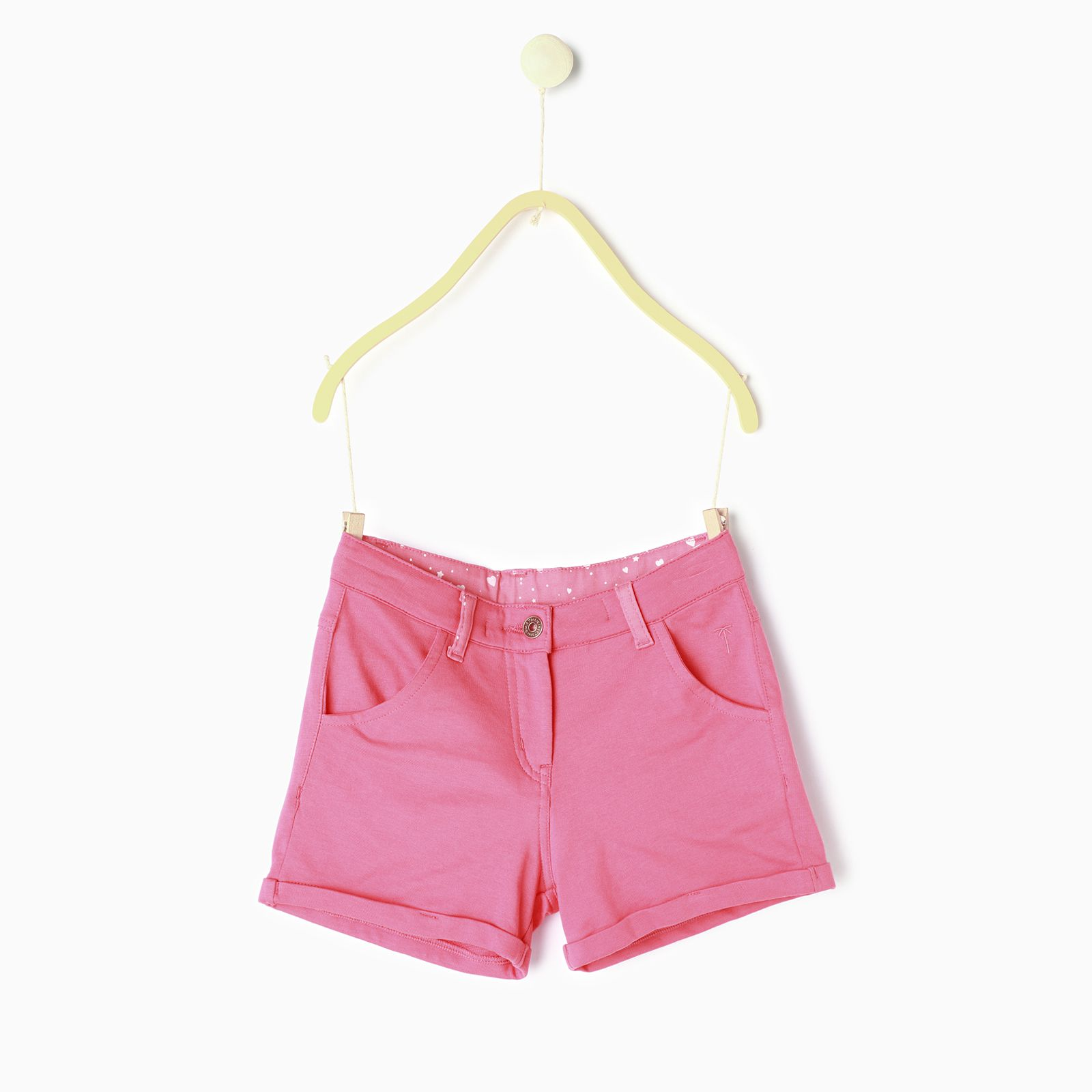 Palm Tree Pink  Hot Shorts