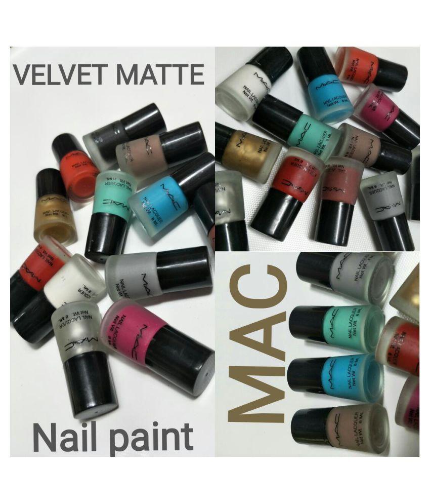 M.A.C USA Nail Polish Assorted Matte 2.5 ml: Buy M.A.C USA Nail ...
