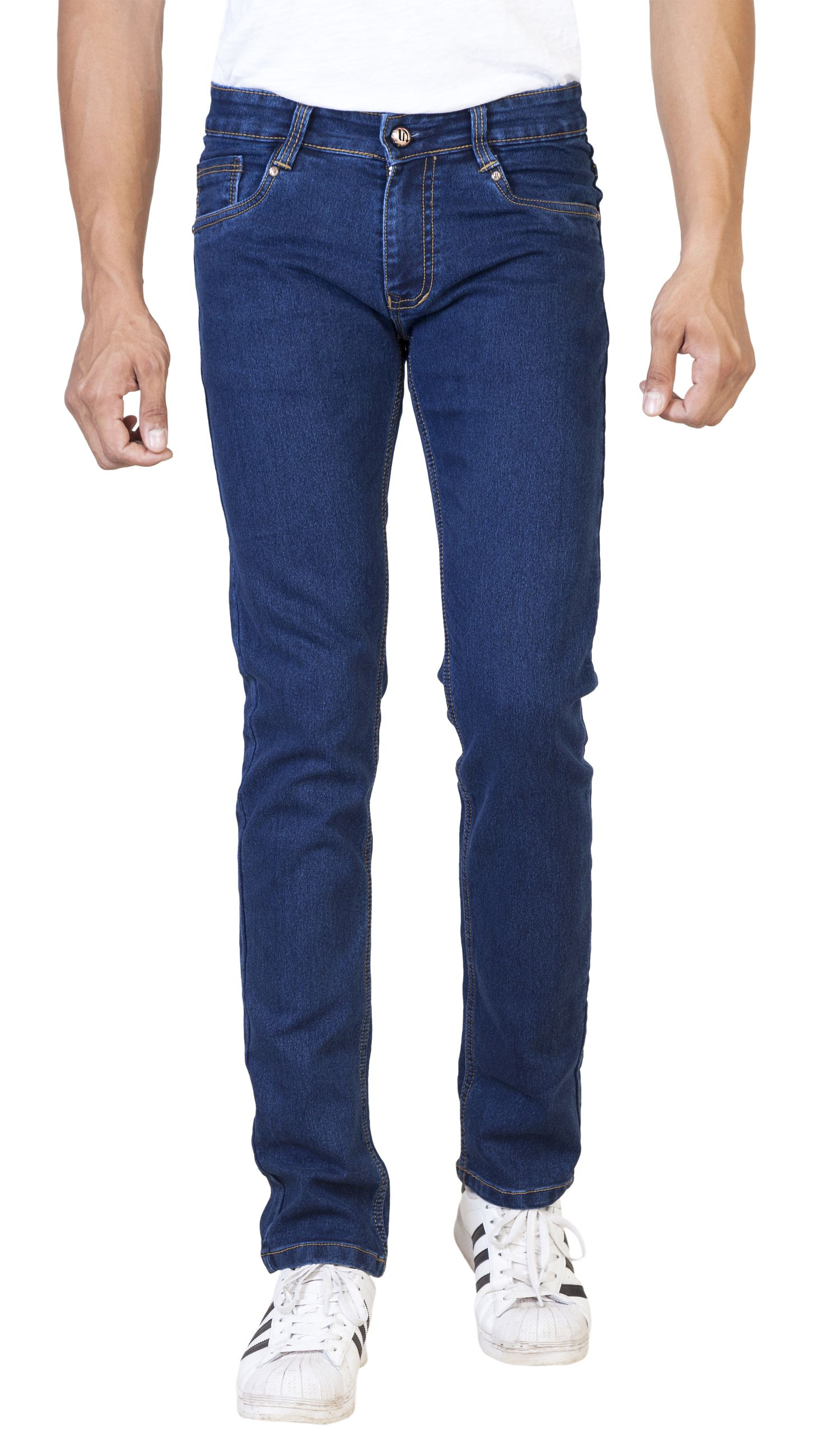 ROAD ROCKERS Blue Slim Jeans