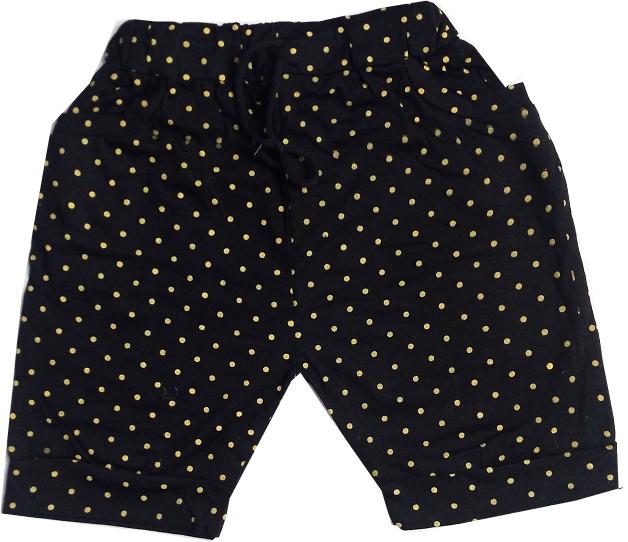HVM Girls Printed Shorts- 5-8 Years