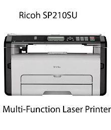 Ricoh SP210SU Multi Function B/W Laserjet Printer