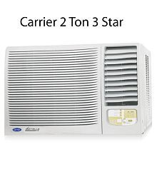 Carrier 2.0 TR 3 Star Estrella Window Air Conditioner(2016-17 BEE Rating)