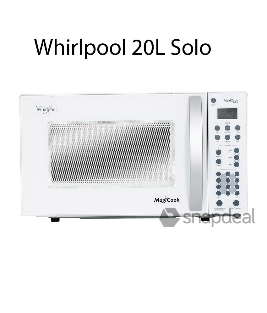 Whirlpool 20SW Solo Microwave Oven (20L)