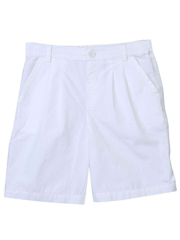 White Poplin Culotte White 3Y