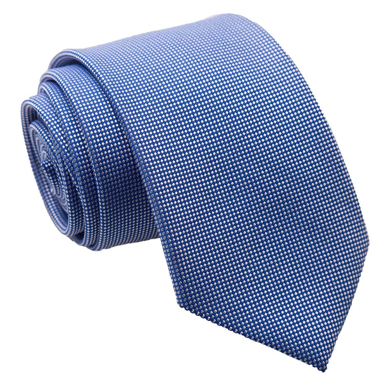 to the nines Blue Dots Silk Necktie