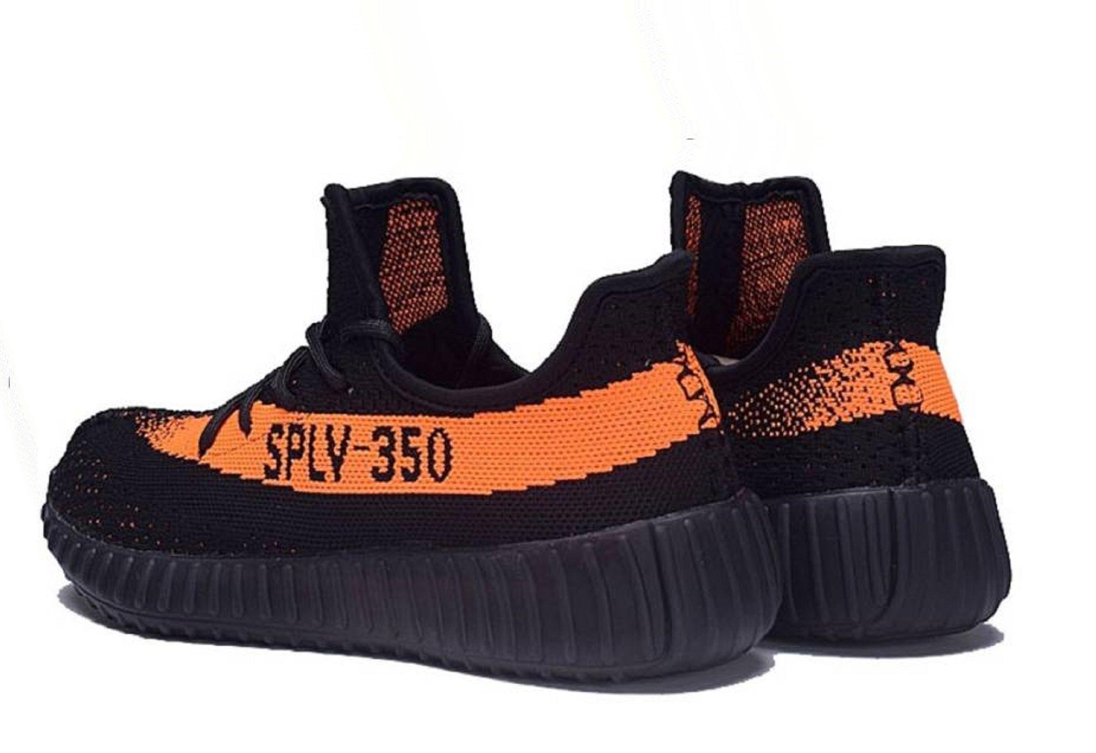6884c7f1a Adidas Yeezy Boost 350 SPLY V2 Black Orange Running Shoes - Buy ...