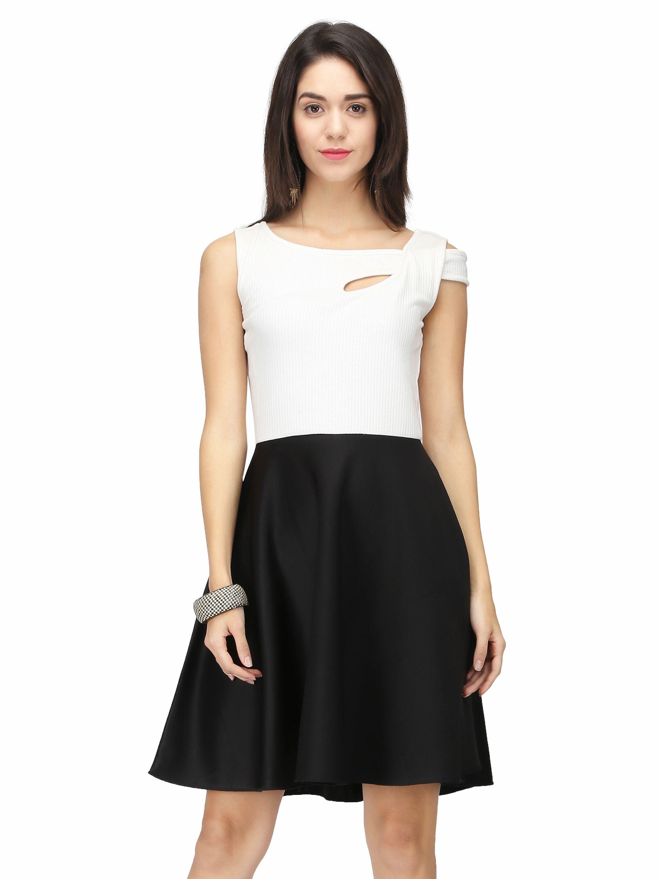 Eavan Polyester White Dresses
