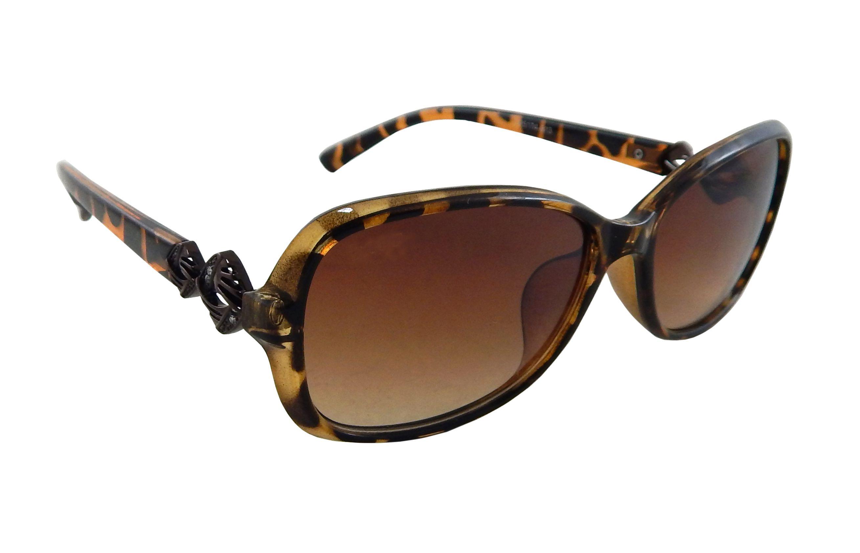 Els Brown Oval Sunglasses ( 165174-513-BRN-BRN-TD-S )