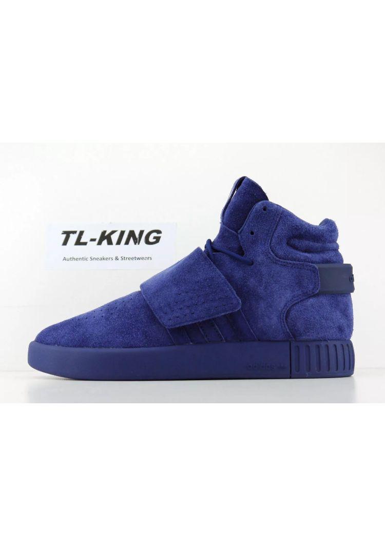 828ca87361b ... authentic adidas tubular invader blue running shoes e2019 939c1