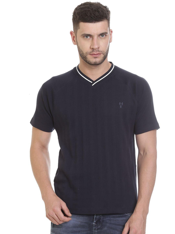 VUDU Navy V-Neck T-Shirt