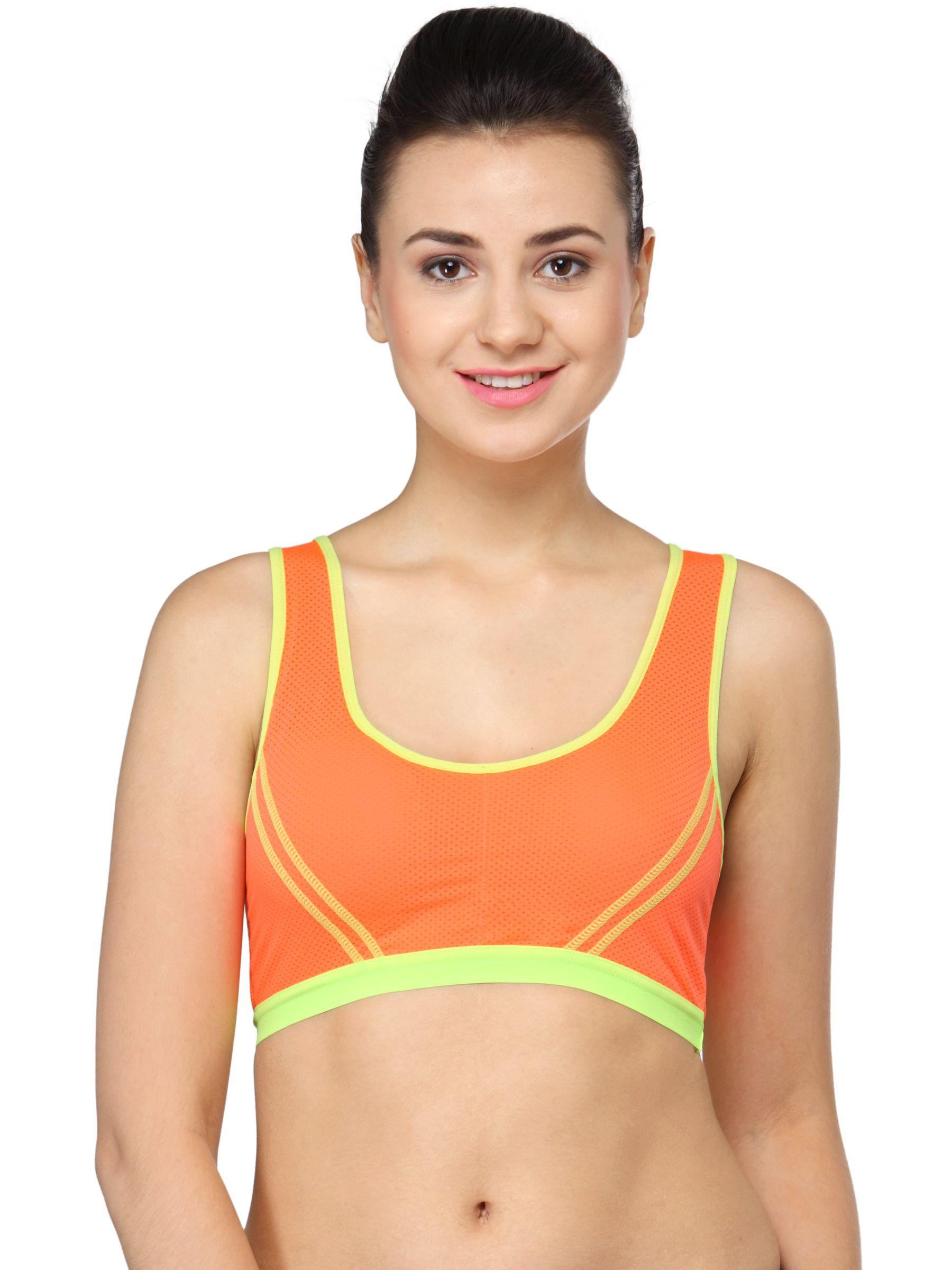 Rohani Orange Sports Bra