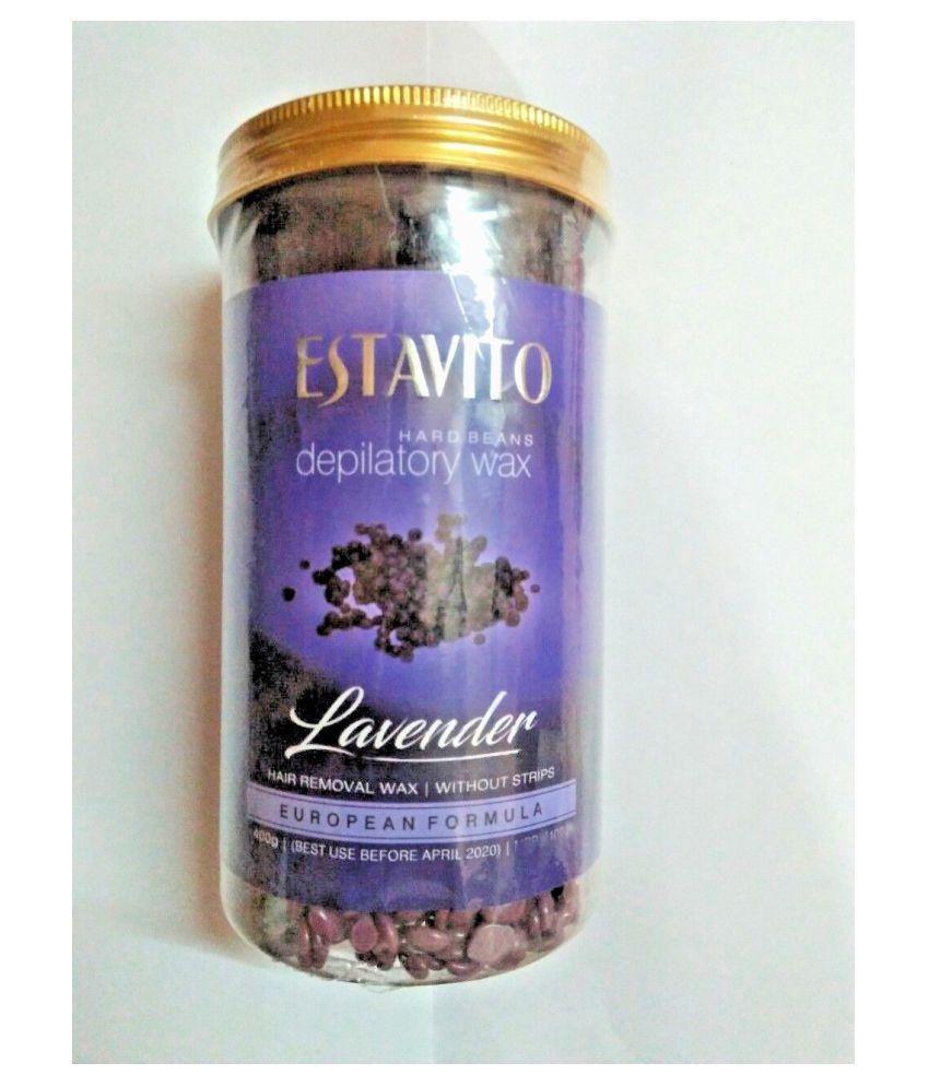 blushia Lavender Wax Beans Body Hair Removal Hot Wax 500 gm
