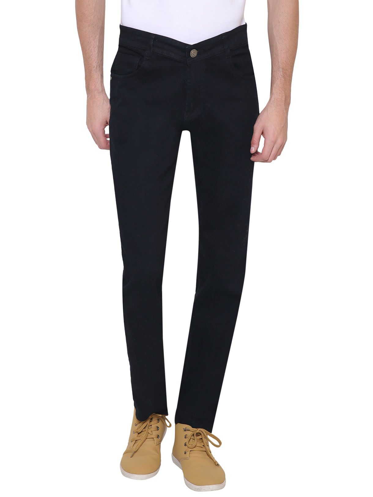 gradely Black Regular Fit Jeans