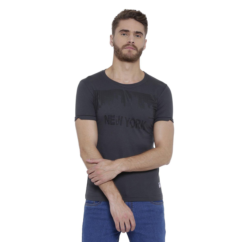 Duke Black Round T-Shirt