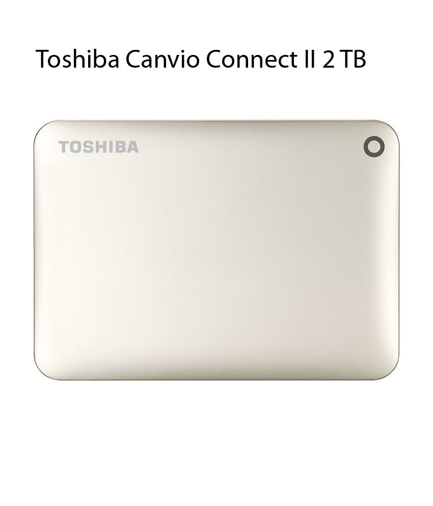 Toshiba Canvio Connect II 2 TB USB 3.0