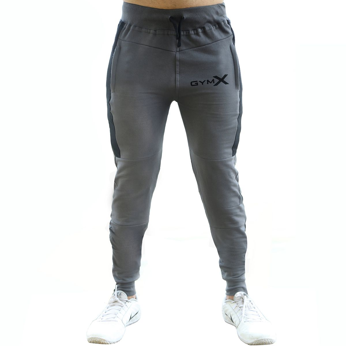 GymX Mens Outperform Carbon Grey Sweatpants