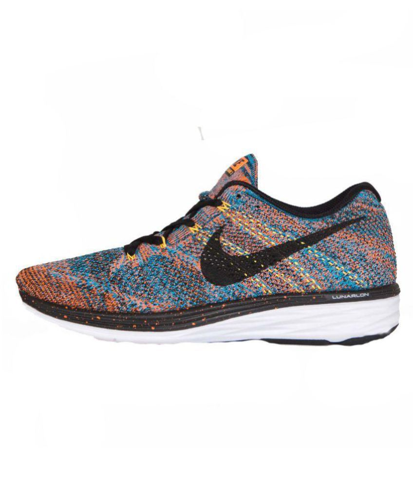 a6f7515e4a2eb Nike Flyknit Lunar 3 Multi Color Running Shoes - Buy Nike Flyknit ...