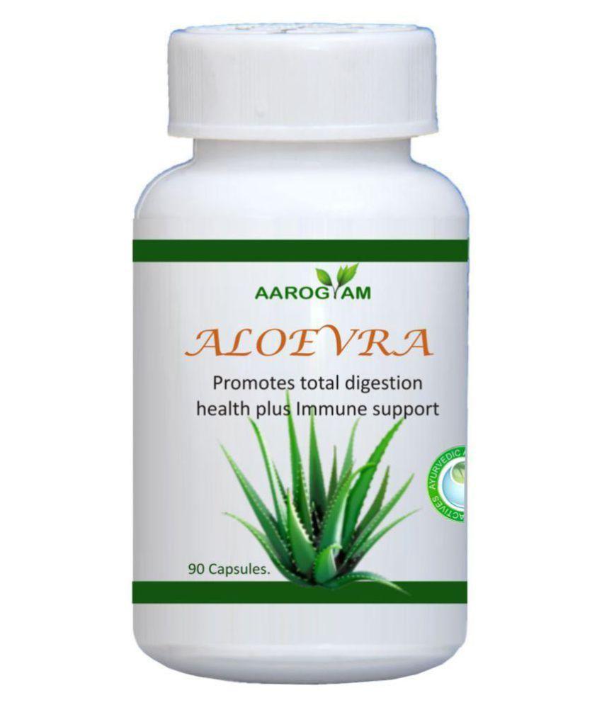Aarogyam Aloevera Capsule 500 mg