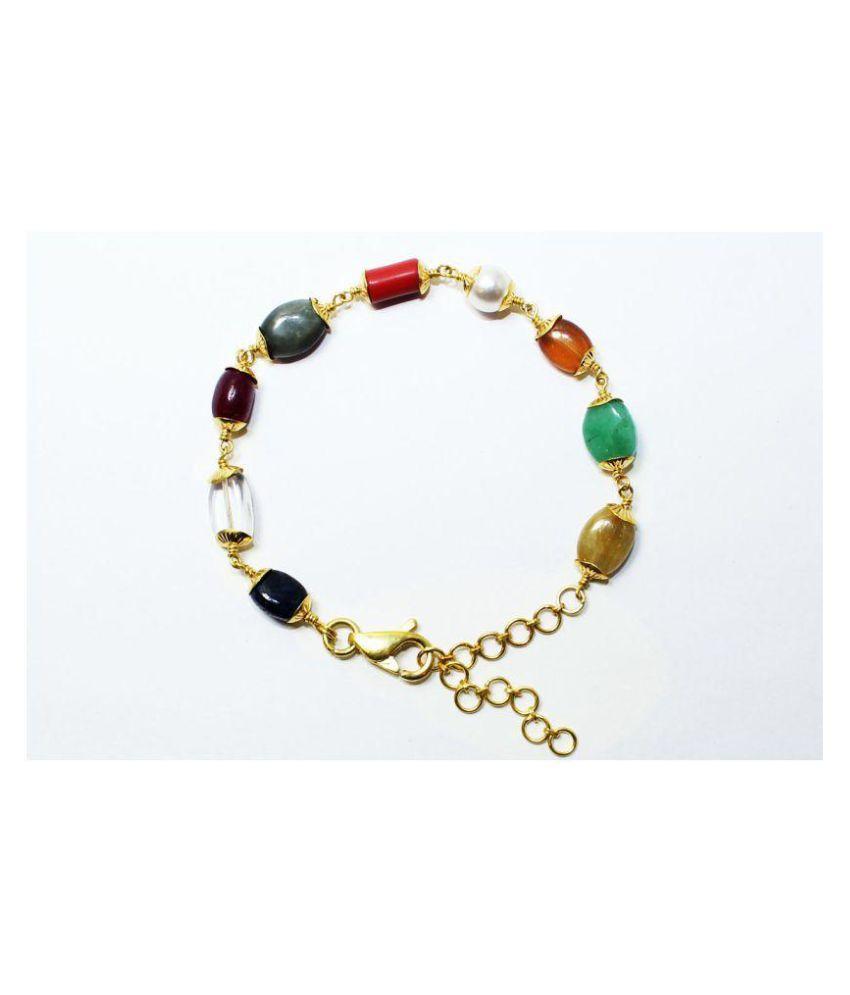 0058d050f59f2b Jaipur Gemstone 10k Gold and Bracelet: Buy Jaipur Gemstone 10k Gold ...