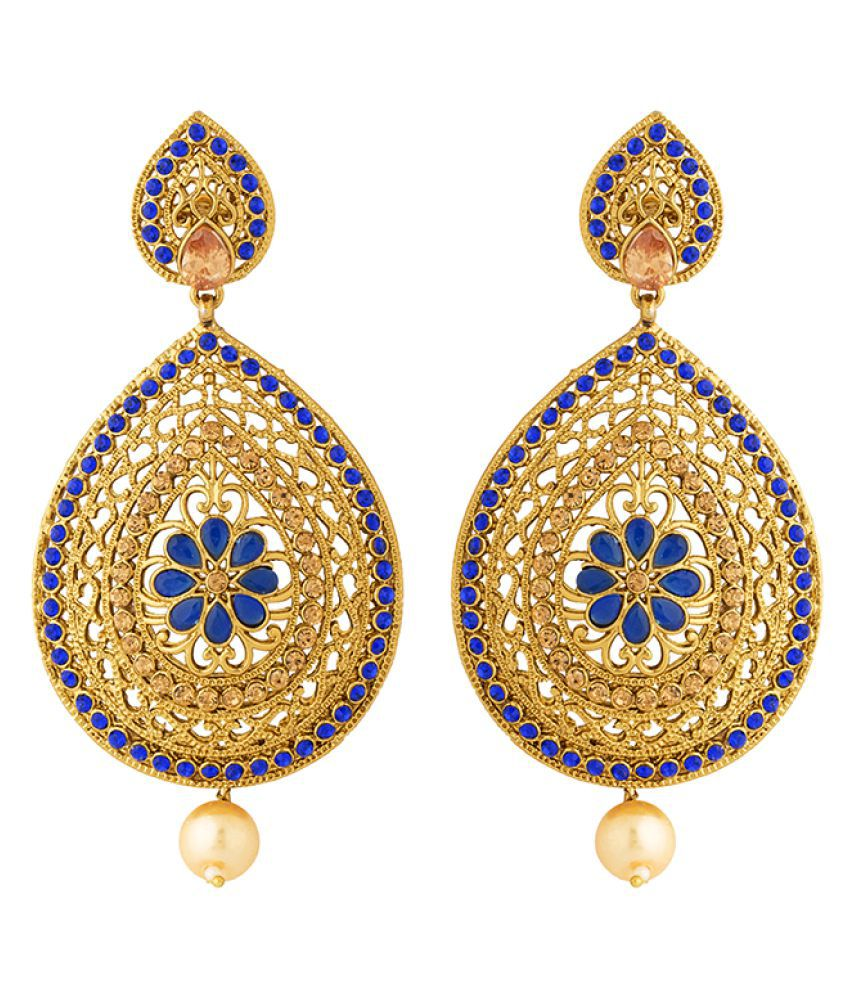 Voylla Pear Shaped Gorgeous Pair Of Danglers