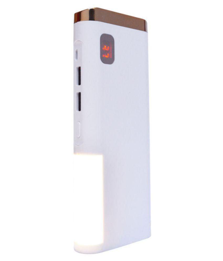 HI-TEL SIDELAMP MAGIC LIGHT 10000 -mAh Li-Ion Power Bank Gold