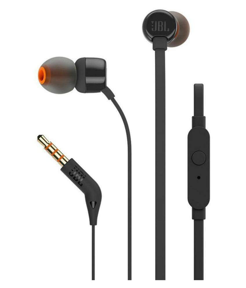 c98a7eeda62 JBL T160 In Ear Wired Earphones With Mic - Buy JBL T160 In Ear Wired  Earphones With Mic Online at Best Prices in India on Snapdeal