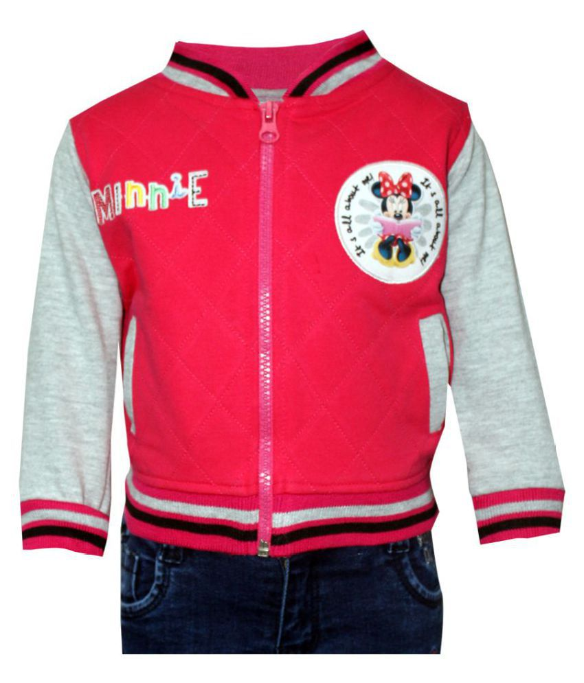 BFF Kids Wear Girls Full Sleeves jacket in Cotton Fabric