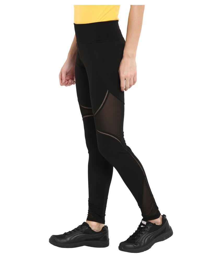 CHKOKKO Women's Solid Casual Designer Yoga Sports Stretchable High Waist Track Yoga Pant and Leggings