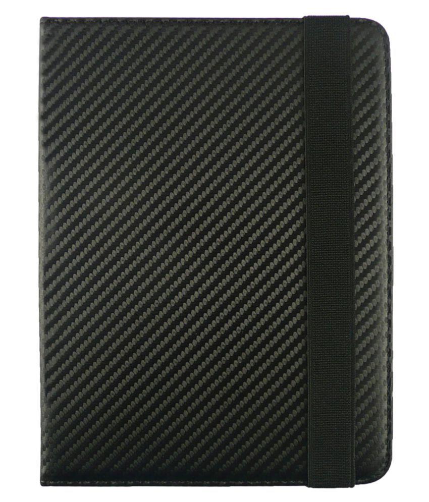 Micromax Fantabulet F666 Flip Cover By Emartbuy Black