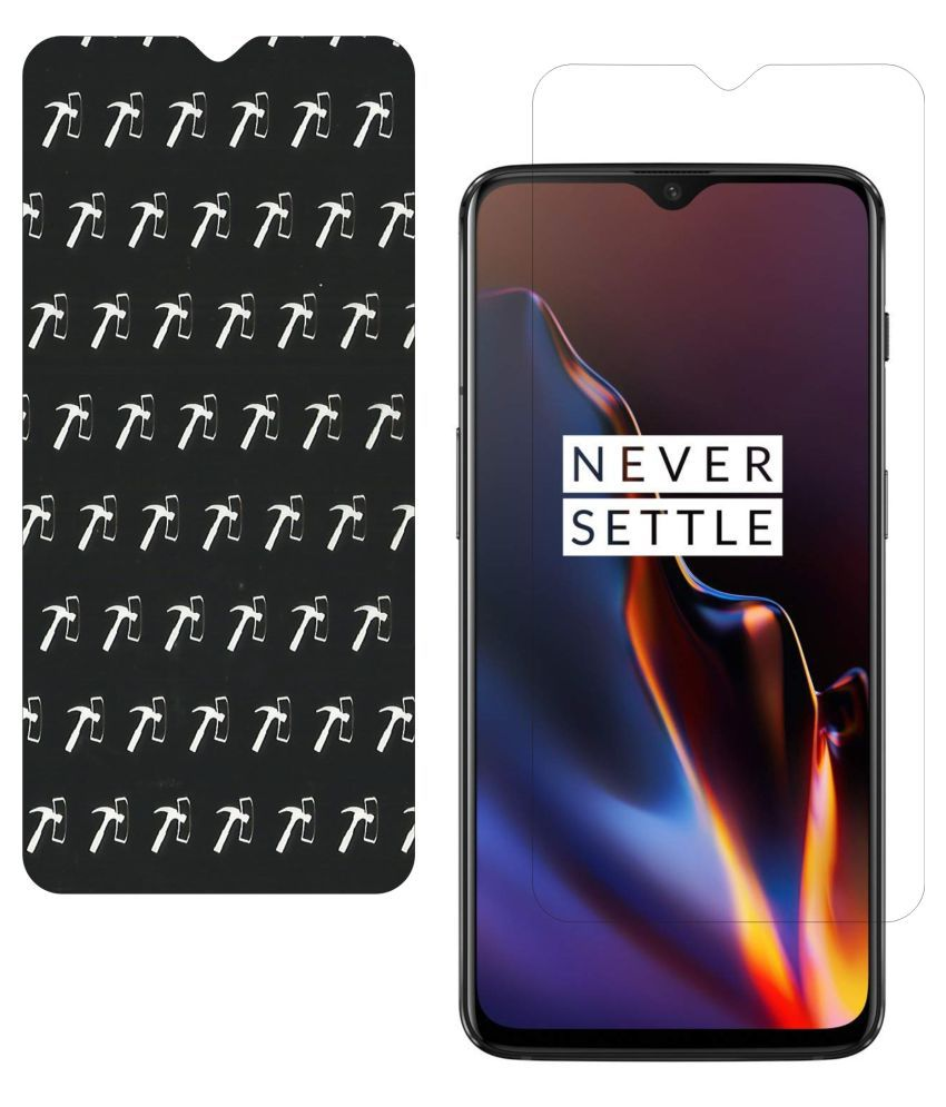 OnePlus 6T AntiGlare Screen Guard By IndiForce _5D, 7 Layer