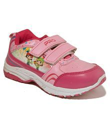 6e7479710789 Quick View. Khadim s Pro Girls Pink Casual Dress Sneakers