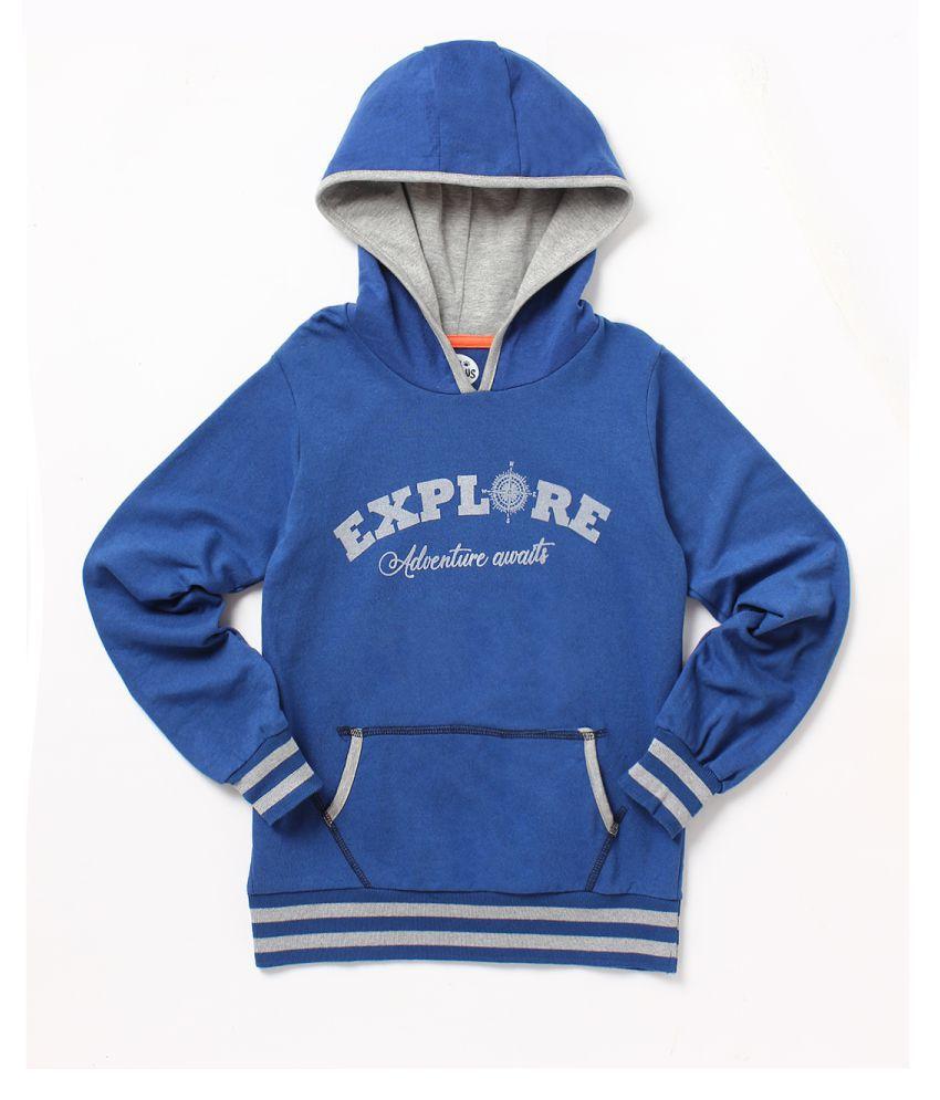 Cub McPaws Boys  Blue Sweatshirt