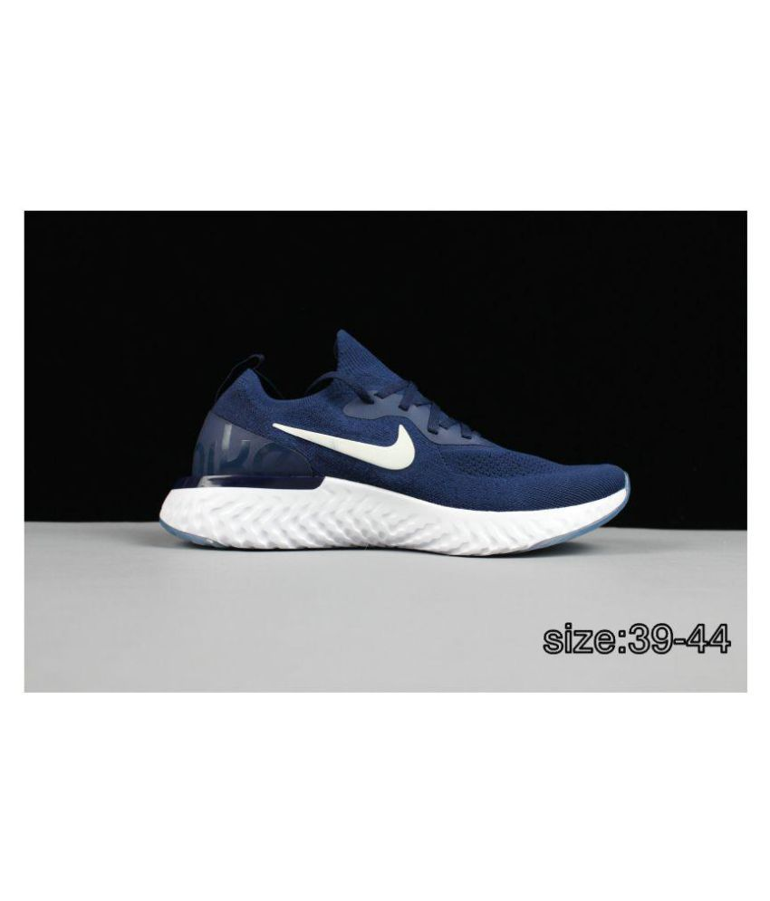 b0375fec0cad2 nike epic react flyknit shoes Blue Running Shoes Price in India- Buy ...