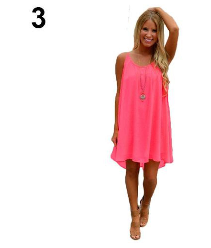 6bee1e6593 Sexy Women Spaghetti Strap Loose Sleeveless Summer Beach Chiffon Mini Dress  - Buy Sexy Women Spaghetti Strap Loose Sleeveless Summer Beach Chiffon Mini  ...