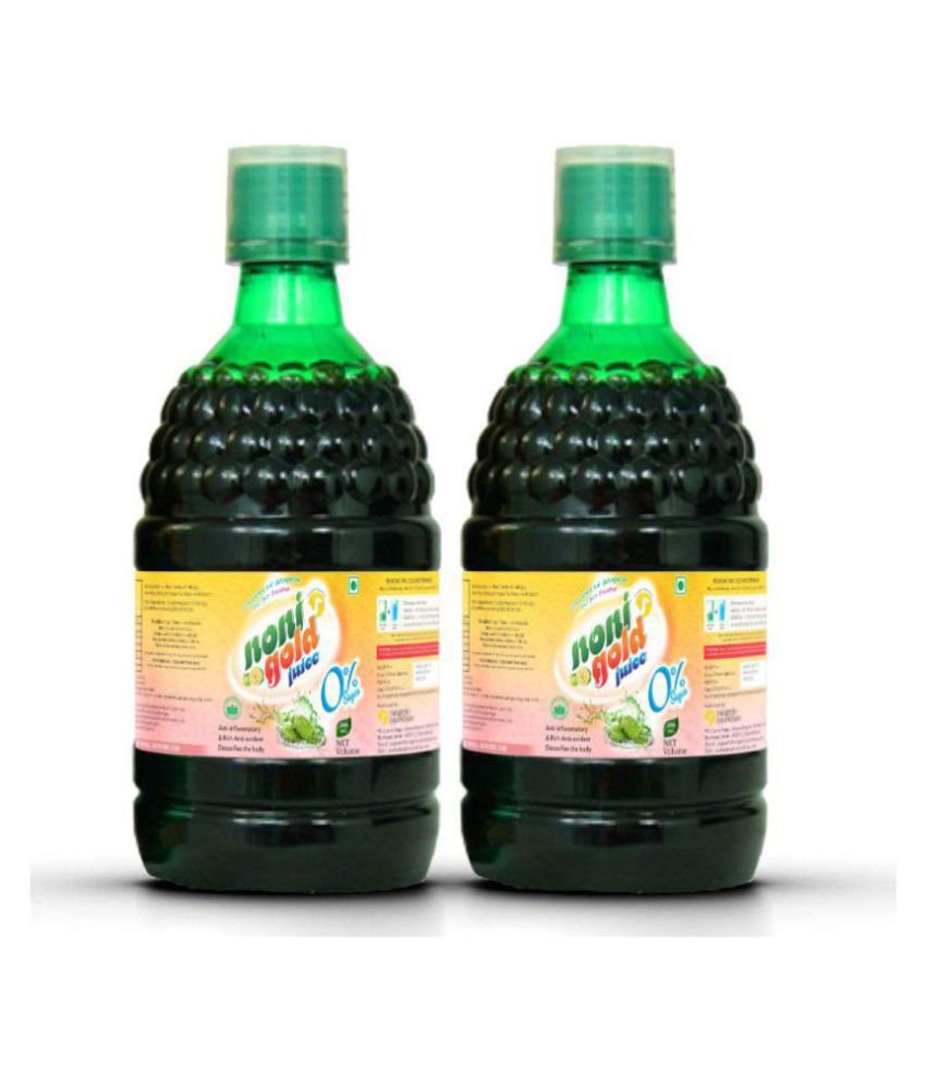 Rangelo Rajasthan Noni gold Juice (Sugar Free) Health Drink 500 ml Pack of 2