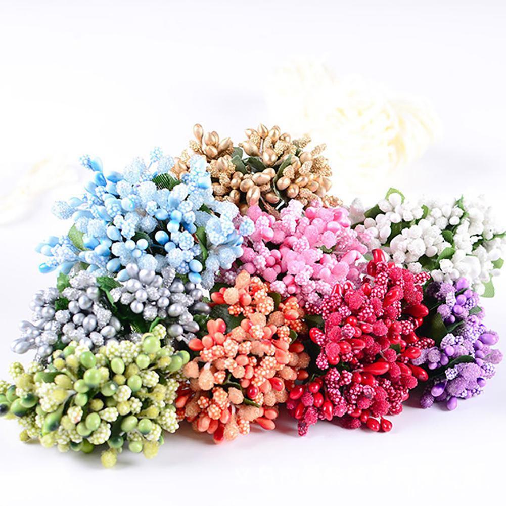 90cd3d19073b ... Artificial Berry Stamen DIY Handmade Flower Wedding Garland Garden  DecorationParty Decoration Kit Pack Combo ...