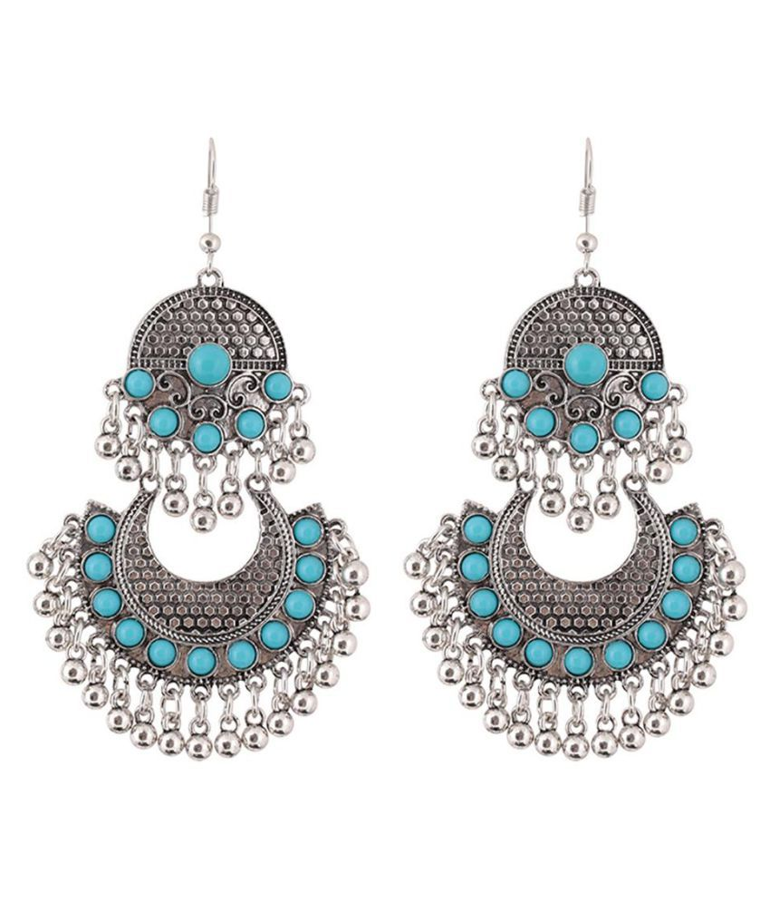 Ethnic Round Beads Tassel Hook Earrings Women Party Club Banquet Jewelry Gift