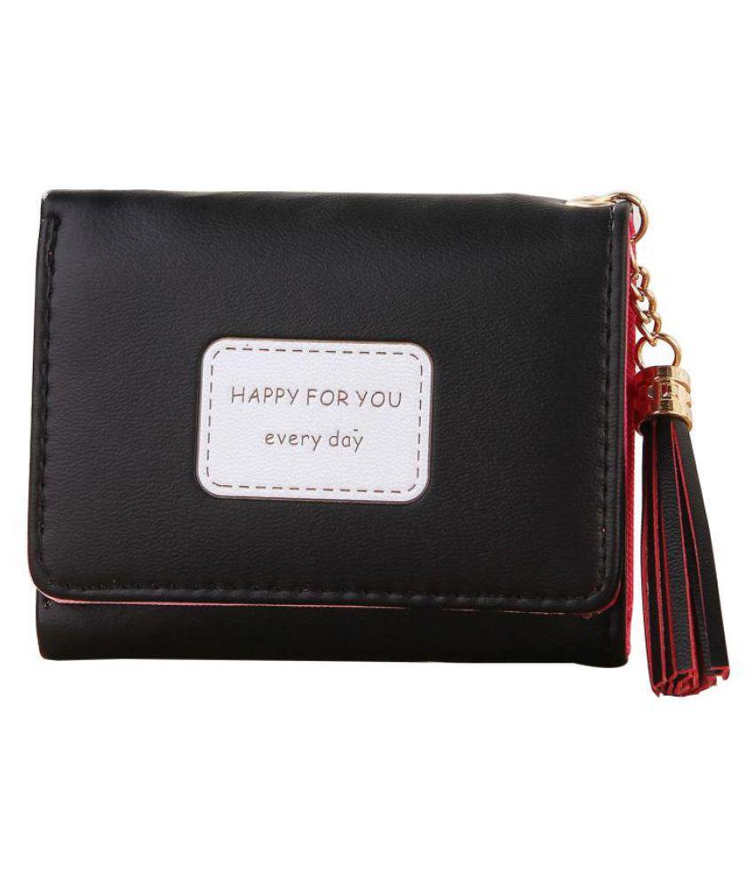 dcd396735c3c Buy Korean Women Tassel Three Folds Card Storage Purse Key Coins ...